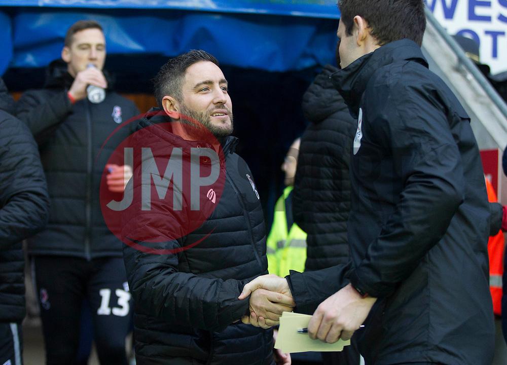 Bristol City Head Coach Lee Johnson - Mandatory by-line: Jack Phillips/JMP - 11/01/2020 - FOOTBALL - DW Stadium - Wigan, England - Wigan Athletic v Bristol City - English Football League Championship