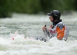 AUT, ECA Kayak Freestyle European Championships im Bild Krummreich Fabian, GER, Canadien Men, #61, EXPA Pictures © 2010, PhotoCredit: EXPA/ J. Feichter / SPORTIDA PHOTO AGENCY