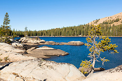"""White Rock Lake 5"" - Photograph of the Tahoe backcountry lake called White Rock Lake."