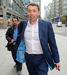 © Licensed to London News Pictures. 20/09/2016. London, UK. General Secretary of the Labour Party IAIN MCNICOL arrives at Labour Party headquarters in central London for an NEC meeting where Labour Party shadow cabinet selection is due to be discussed. Labour MPs voted overwhelmingly to bring back Shadow Cabinet elections, a move that will need to be passed before the Labour National Executive Committee before it can be agreed on at conference later this month. Photo credit: Ben Cawthra/LNP