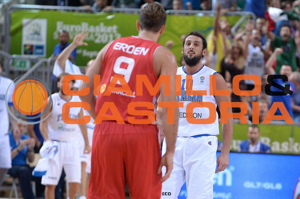 DESCRIZIONE : Capodistria Koper Slovenia Eurobasket Men 2013 Preliminary Round Turchia Italia Turkey Italy<br /> GIOCATORE : Marco Belinelli<br /> CATEGORIA : Esultanza<br /> SQUADRA : Italia<br /> EVENTO : Eurobasket Men 2013<br /> GARA : Turchia Italia Turkey Italy<br /> DATA : 05/09/2013 <br /> SPORT : Pallacanestro&nbsp;<br /> AUTORE : Agenzia Ciamillo-Castoria/Max.Ceretti<br /> Galleria : Eurobasket Men 2013 <br /> Fotonotizia : Capodistria Koper Slovenia Eurobasket Men 2013 Preliminary Round Turchia Italia Turkey Italy<br /> Predefinita :