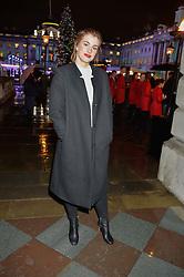 STEFANIE MARTNI at Skate At Somerset House with Fortnum & Mason on 16th November 2016.Actress STEFANIE MARTINI at Skate At Somerset House with Fortnum & Mason on 16th November 2016.