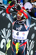KOSTELIC Ivica (CRO), 2nd place on the VIP Snow queen trophy 2011, AUDI FIS Ski World Cup men slalom, 06/01/2011, Zagreb, Sljeme