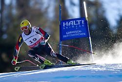 09.02.2011, Kandahar, Garmisch Partenkirchen, GER, FIS Alpin Ski WM 2011, GAP, Herren Super G, im Bild Ivica Kostelic (CRO) // Ivica Kostelic (CRO) during Men Super G, Fis Alpine Ski World Championships in Garmisch Partenkirchen, Germany on 9/2/2011. EXPA Pictures © 2011, PhotoCredit: EXPA/ J. Groder