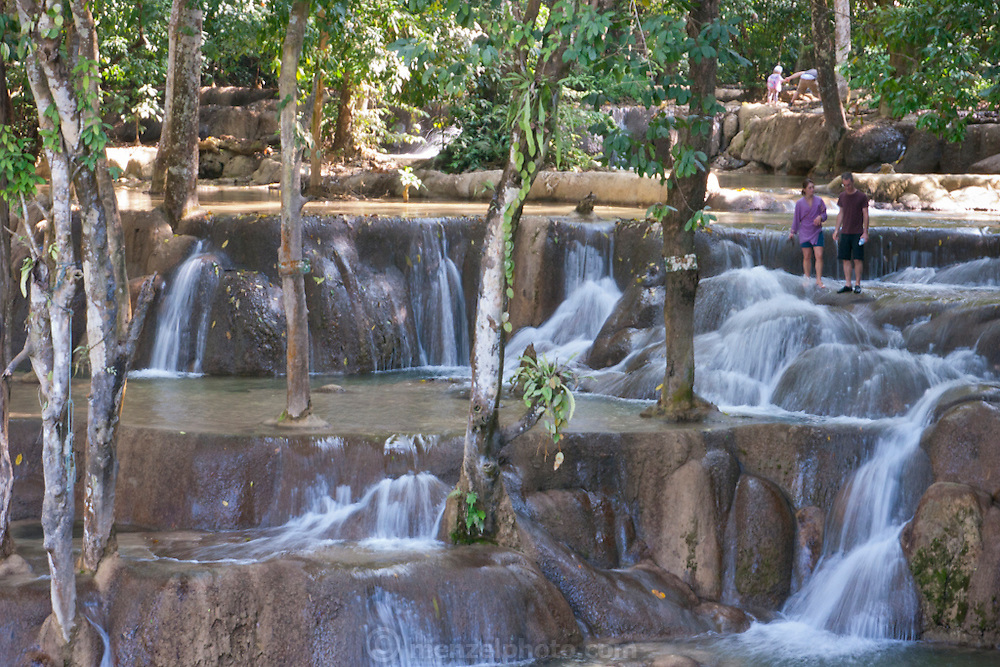 At Tad Sae Waterfall, near Luang Prabang, Laos.