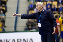 Zvonimir Serdarusic, head coach of PSG during handball match between RK Celje Pivovarna Lasko (SLO) and Paris Saint-Germain Handball (FRA) in VELUX EHF Champions League, on February 11, 2018 in Dvorana Zlatorog, Celje, Slovenia. Photo by Urban Urbanc / Sportida