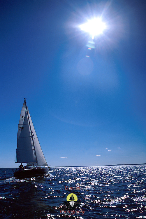Penobscot Bay Sail .Photo by Roger S. Duncan.  .