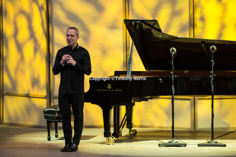 2014 Music Director Jeremy Denk opens the 68th Ojai Music Festival at Libbey Bowl on June 12, 2014 in Ojai, California.