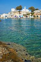 Grece, Cyclades, ile de Milos, le village de pecheur de Mandrakia // Greece, Cyclades islands, Milos, fish harbourg of Mandrakia