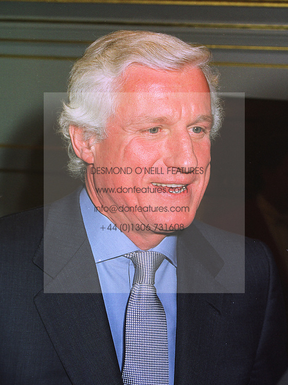 DR FRIEDRICH-CHRISTIAN FLICK the Mercedes car heir, at a wedding in London on 6th December 1997.MED 39