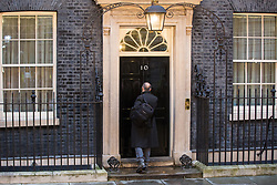 London, UK. 13 December, 2019. Political adviser Dominic Cummings arrives at 10 Downing Street after the Conservative party won the general election with a majority in the House of Commons of 78 with one seat still left to declare. Credit: Mark Kerrison/Alamy Live News