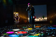 01/06/2016 Brooklyn, NY. From left: Claudia Boyle and Katherine Manley performing &quot;The Last Hotel&quot; as part of Prototype Festival at St. Ann's Warehouse.<br /> Ass # 30184170A<br /> Credit: Paula Lobo for The New York Times