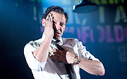 Ink <br /> by James Graham <br /> directed by Rupert Goold <br /> world premier <br /> at Almeida Theatre, London, Great Britain <br /> press photocall 26th June 2017 <br /> <br /> Richard Coyle as Larry Lamb <br /> <br /> <br /> Photograph by Elliott Franks <br /> Image licensed to Elliott Franks Photography Services