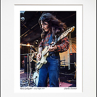 Rory Gallagher - An affordable archival quality matted print ready for framing at home.<br />