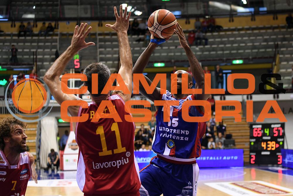 Timothy Bowers<br /> Eurotrend Assistenza Pallacanestro Biella - Ora Si Basket Ravenna<br /> LNP Supercoppa 2017 Old Wild West<br /> Finale 3 - 4 posto<br /> Trieste, 23/09/2017<br /> Foto M.Ceretti / Ciamillo - Castoria