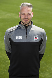 physiotherapist Maurice de Groot during the team presentation of Excelsior Rotterdam on July 13, 2018 at the Van Donge & De Roo stadium in Rotterdam, The Netherlands