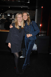 Left to right, ALANNAH WESTON and COUNTESS ALLESANDRO GUERRINI-MARALDI at a party to celebrate the launch of Holly Peterson's debut novel 'The manny' held at Selfridges, Oxford Street, London on 26th February 2007.<br />