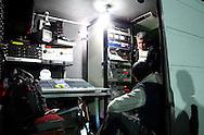 TV TURKEY BROADCASTING CREW DURING FRIENDLY SOCCER MATCH BETWEEN POLAND AND BOSNIA AND HERCEGOVINA..ANTALYA , TURKEY , DECEMBER 15, 2007.( PHOTO BY ADAM NURKIEWICZ / MEDIASPORT )