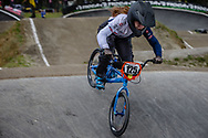 #125 (RIDGE-DAVIS Blaine) GBR during round 3 of the 2017 UCI BMX  Supercross World Cup in Zolder, Belgium,
