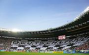 Germany fans inside the Ernst Happel Stadion in Vienna