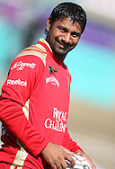 Praveen Kumar  during the Royal Challengers Bangalore training session held at Kingsmead Stadium in Durban on the 23 September 2010..Photo by: Steve Haag/SPORTZPICS/CLT20.