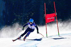 FITZPATRICK Menna Guide: KEHOE Jennifer, B2, GBR, Giant Slalom at the WPAS_2019 Alpine Skiing World Cup, La Molina, Spain
