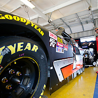 July 12, 2018 - Sparta, Kentucky, USA: Justin Allgaier (7) gets ready to practice for the Alsco 300 at Kentucky Speedway in Sparta, Kentucky.