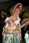 GRAYSON PERRY, The private view of exhibition 'The House of Viktor & Rolf', at The Barbican Gallery.  London.  June 17 2008. *** Local Caption *** -DO NOT ARCHIVE-© Copyright Photograph by Dafydd Jones. 248 Clapham Rd. London SW9 0PZ. Tel 0207 820 0771. www.dafjones.com.
