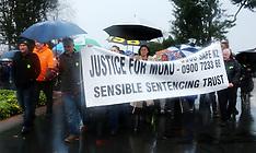 Rotorua-Protest march for slain 3yr old Moko Rangitoheriri