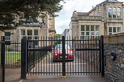 """© Licensed to London News Pictures. 01/08/2019; Bristol, UK. Views of St Christopher's residential care home and school for children in Westbury Park, Bristol, run by the Aurora Group. The residential care home for children with special needs has been closed suddenly and some members of staff have been suspended after allegations of child cruelty. Ofsted has removed the care home's registration, and Avon and Somerset Police confirmed it was investigating """"allegations of child cruelty offences"""" relating to the centre in the north Bristol area. Aurora St Christopher's School is a DfE registered Independent Special School providing specialist education for pupils aged 5 to 19 years with severe language and communication difficulties and with profound and multiple learning difficulties including physical and sensory needs. The council are helping to review each child's care plans to make alternative arrangements for the children who require specialist care. The allegations specifically relate to the children's home and not an adjoining school also run by the company, and the school remains open. Photo credit: Simon Chapman/LNP."""