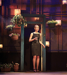 Suranne Jones as Sandra..Beautiful Thing by Jonathan Harvey, the Art's Theatre, London, Great Britain, April 16, 2013, April 22, 2013. Photo by: Elliott Franks / i-Images