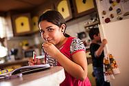 Yuliana Viloria es un niña de 11 años que vive en Punto Fijo, Edo. Falcón. Gracias a FundaHigado, recibió un trasplante de higado que le permite disfrutar de la vida. Punto Fijo, Venezuela 26 y 27 Oct. 2012. (Foto/ivan gonzalez)
