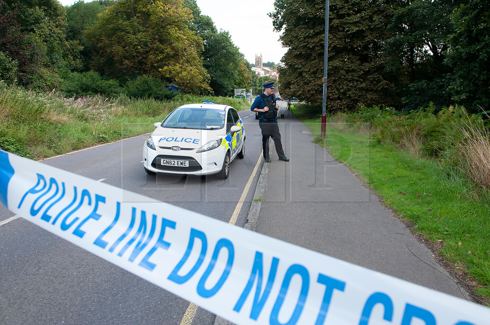 ©Licensed to London News Pictures 20/08/2019.<br /> Tunbridge Wells ,UK. Police searching for missing 30 year old Sabrina Goacher in Kent have found a body in woodland off Church Road, Tunbridge Wells. Forensic teams are investigating with a police cordon in place. The scene is near to Tunbridge Wells town centre. Sabrina had been reported missing on Sunday.  Photo credit: Grant Falvey/LNP