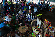 Powwow Drum, Milk River Indian Days Pow Wow, Fort Belknap Indian Reservation, Montana.