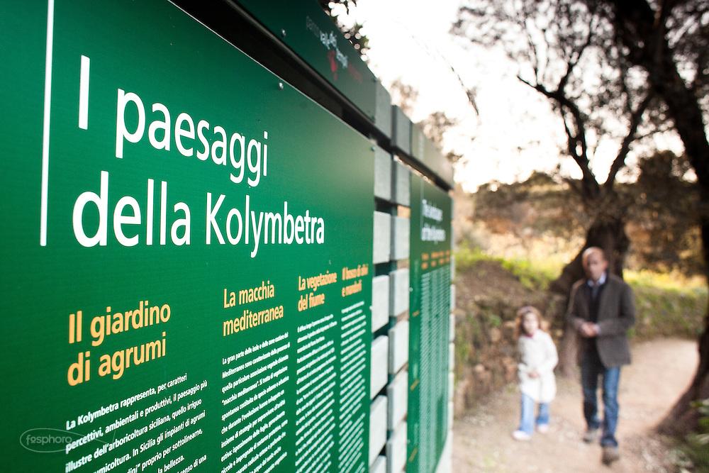 Agrigento, Accesso al Giardino della Kolymbetra. Proprietà FAI.  ©2012 Vince Cammarata | FOS