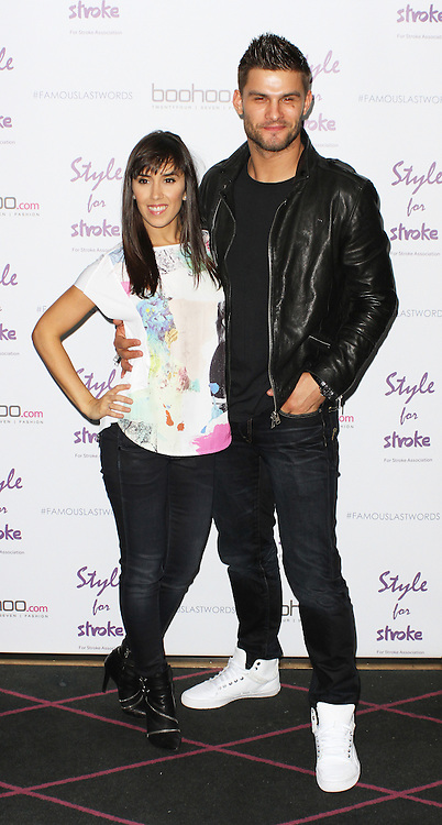 Janette Manrara & Aljaz Skorjanec, Style For Stroke T-Shirt - Launch Party, Werewolf Piccadilly, London UK, 29 May 2014, Photo by Brett D. Cove