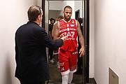 M'Baye Amath, RED OCTOBER MIA CANTU' vs EA7 EMPORIO ARMANI OLIMPIA MILANO, Lega Basket Serie A 2017/2018, 26 giornata, PalaDesio 15 aprile 2018 foto:BERTANI/Ciamillo