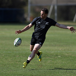 PRETORIA, SOUTH AFRICA - OCTOBER 05: Ben Smith of the New Zealand (All Blacks) during the Rugby Championship New Zealand All Blacks captain's run at St David's Marist Inanda 36 Rivonia Rd, Sandown, Sandton,on October 5, 2018 in Pretoria, South Africa. (Photo by Steve Haag/Getty Images)
