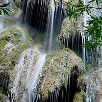 A Waterfall in Rose Valley, Los Padres National Forest