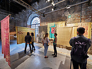 "FREESPACE - 16th Venice Architecture Biennale. Arsenale. Studio Anna Heringer (Germany), ""THIS IS NOT JUST A SHIRT""."