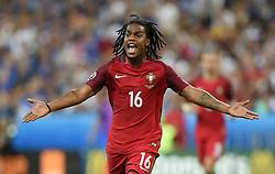 Renato Sanches of Portugal  - Mandatory by-line: Joe Meredith/JMP - 10/07/2016 - FOOTBALL - Stade de France - Saint-Denis, France - Portugal v France - UEFA European Championship Final