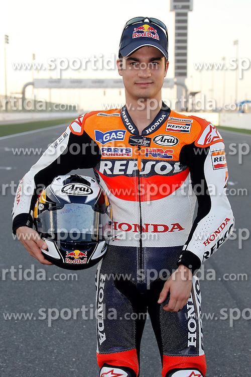 19.03.2010, Doha, Katar, QAT, MotoGP, Fahrerfotos im Bild Dani Pedrosa - Repsol Honda team, EXPA Pictures © 2010, PhotoCredit: EXPA/ InsideFoto/ Semedia / SPORTIDA PHOTO AGENCY