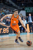 Valencia Basket Fernando San Emeterio during Turkish Airlines Euroleague match between Real Madrid and Valencia Basket at Wizink Center in Madrid, Spain. December 19, 2017. (ALTERPHOTOS/Borja B.Hojas)