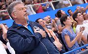DESCRIZIONE : Trento Nazionale Italia Uomini Trentino Basket Cup Italia Germania Italy Germany <br /> GIOCATORE : Claudio Silvestri<br /> CATEGORIA : pregame before<br /> SQUADRA : Italia Italy<br /> EVENTO : Trentino Basket Cup<br /> GARA : Italia Germania Italy Germany<br /> DATA : 01/08/2015<br /> SPORT : Pallacanestro<br /> AUTORE : Agenzia Ciamillo-Castoria/R.Morgano<br /> Galleria : FIP Nazionali 2015<br /> Fotonotizia : Trento Nazionale Italia Uomini Trentino Basket Cup Italia Germania Italy Germany
