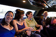 Limo ride; Maja and Rob's wedding. ..