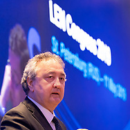 Paolo Barelli LEN President<br /> LEN Congress 2019<br /> Hilton Hotel  St. Petersburg Russia<br /> May 09 - 11, 2019<br /> Day0 11/05/2019<br /> Photo G.Scala/Deepbluemedia/Insidefoto