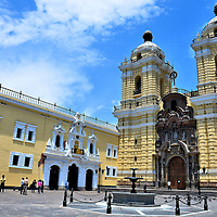 San Francisco Church, Convent and Museum in Lima, Peru<br />
