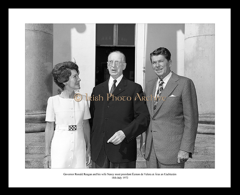 This great shot by Lensmen Photographic Agency is the perfect gift idea for someone that is interested in politics or former US presidents.