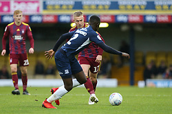 Danny Rowe of Ipswich Town passes the ball - Mandatory by-line: Arron Gent/JMP - 27/10/2019 - FOOTBALL - Roots Hall - Southend-on-Sea, England - Southend United v Ipswich Town - Sky Bet League One