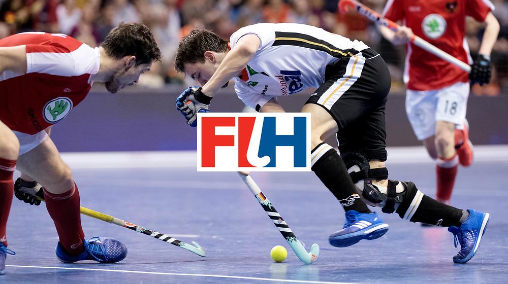 BERLIN - Indoor Hockey World Cup<br /> Final: Germany - Austria<br /> foto: Tobias Hauke.<br /> WORLDSPORTPICS COPYRIGHT FRANK UIJLENBROEK
